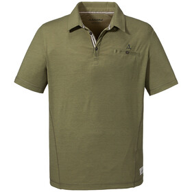 Schöffel Kochel1 Polo Shirt Men loden green
